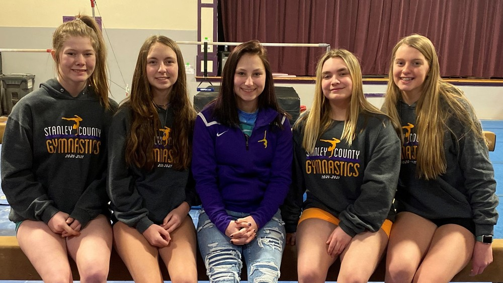 Fabulous Five Headed to State Gymnastics