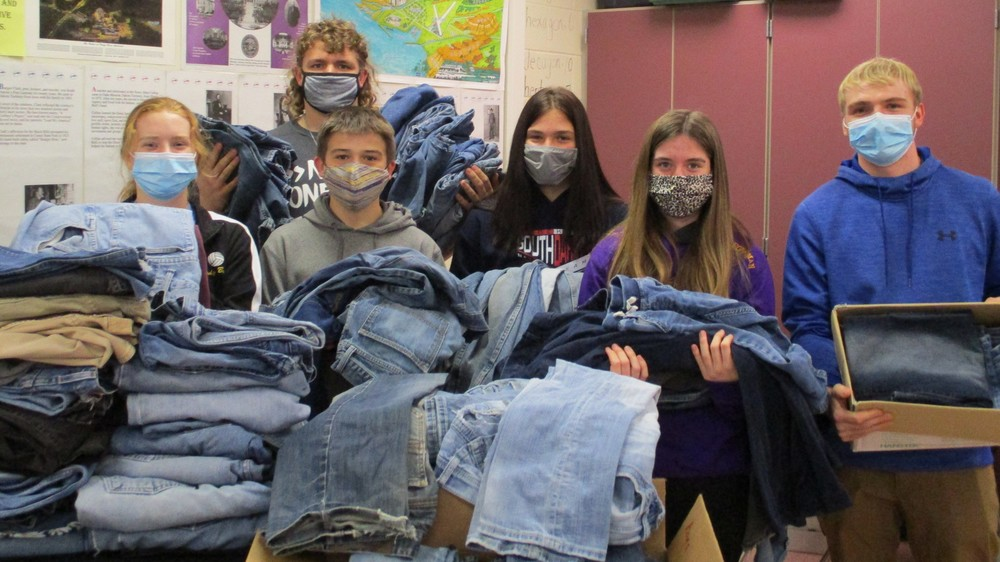 Student Council  Blue Jeans Collection Drive Update