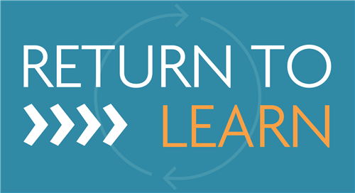 Return to Learning Plan