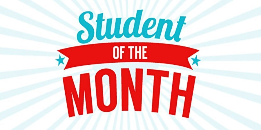 Grades 6-12 Students of the Month
